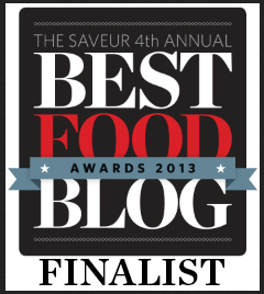 Saveur Food Blog Awards Finalist